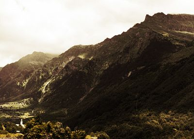 mountains, landscapes, forests - random desktop wallpaper