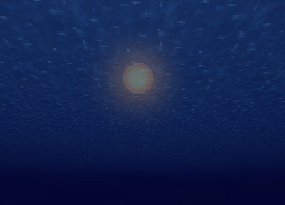video games, ocean, Sun, Minecraft, underwater - random desktop wallpaper