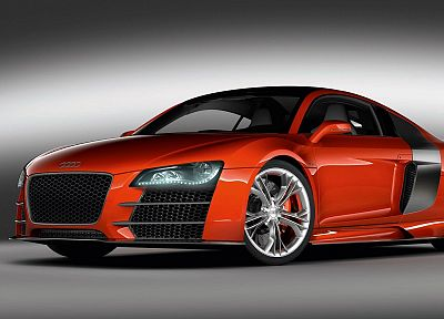 cars, Audi, vehicles, front angle view - desktop wallpaper