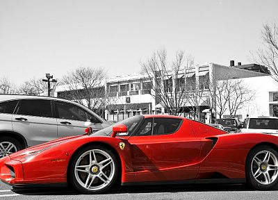cars, Ferrari, Italy, vehicles, Ferrari Enzo, red cars - desktop wallpaper