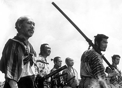 film, Seven Samurai - random desktop wallpaper