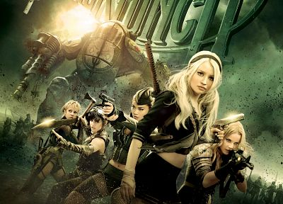 Emily Browning, Vanessa Hudgens, Sucker Punch, Jena Malone, movie posters, Jamie Chung, Abbie Cornish - related desktop wallpaper