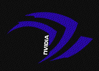 Nvidia, textures, logos - related desktop wallpaper