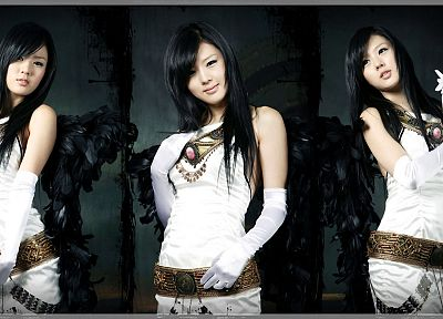 women, Hwang Mi Hee, Asians - random desktop wallpaper
