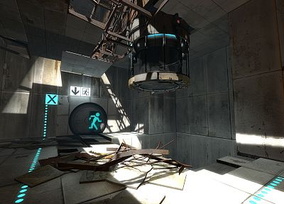 video games, Portal, Portal 2 - related desktop wallpaper