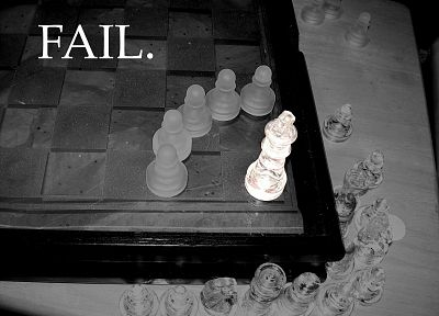 chess, fail - random desktop wallpaper