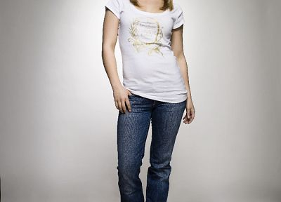 women, jeans, Hayden Panettiere, celebrity - desktop wallpaper