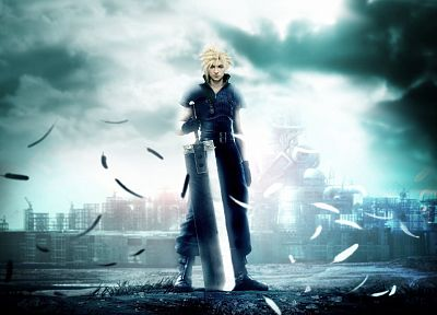 Final Fantasy VII, Final Fantasy VII Advent Children, Cloud Strife - random desktop wallpaper