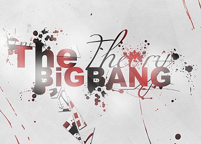 The Big Bang Theory (TV), bright, splatters - random desktop wallpaper