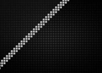 abstract, pixel art - desktop wallpaper