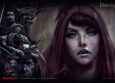 Morrigan, video games, RPG, artwork, Dragon Age Origins - related desktop wallpaper