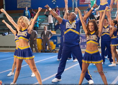 blondes, women, actress, skirts, celebrity, Ashley Tisdale, singers, Alyson Michalka, Hellcats, cheerleaders - related desktop wallpaper