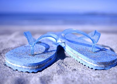 sand, shoes, sandals, beaches - random desktop wallpaper