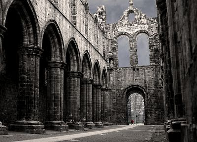 ruins, architecture, buildings, churches - random desktop wallpaper