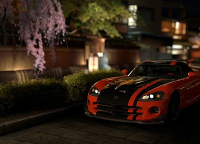 video games, cars, vehicles, Dodge Viper, Gran Turismo 5, Playstation 3, ACR, SRT10 - related desktop wallpaper