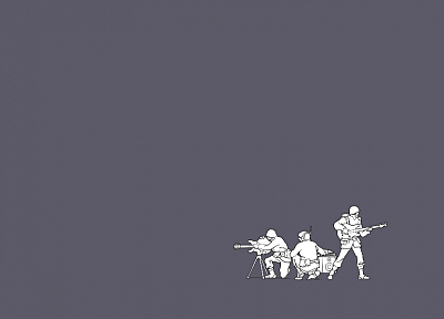 minimalistic, army, funny, Threadless, simple background - desktop wallpaper
