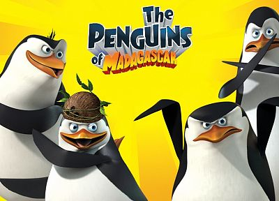 penguins, madagascar - related desktop wallpaper