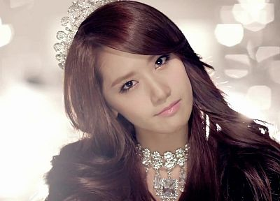 women, Girls Generation SNSD, Im YoonA - random desktop wallpaper