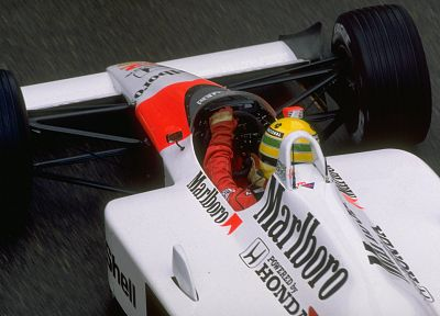 Formula One, Ayrton Senna, cigarettes, racing cars, 1988 - desktop wallpaper