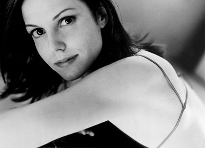 grayscale, Mary-Louise Parker, monochrome - random desktop wallpaper