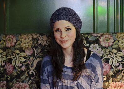brunettes, women, singers, Lena Meyer-Landrut - related desktop wallpaper