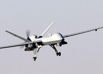 aircraft, military, UAV, drone, MQ-9 Reaper, AGM-114 Hellfire - related desktop wallpaper
