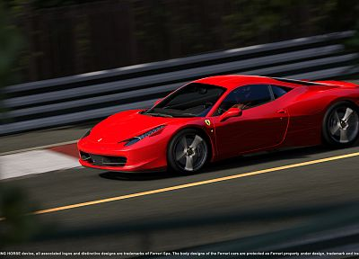cars, Ferrari, vehicles, Ferrari 458 Italia - random desktop wallpaper