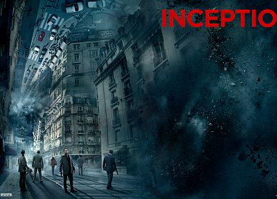 Inception, Leonardo DiCaprio - random desktop wallpaper