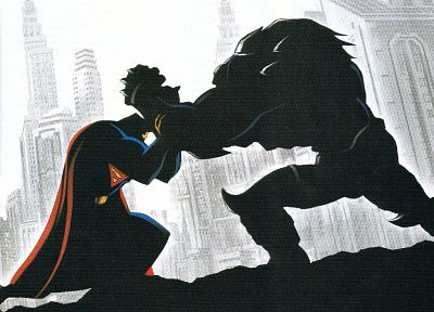 DC Comics, Superman, Doomsday - random desktop wallpaper