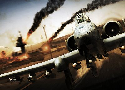 video games, A-10 Thunderbolt II, Tom Clancy, HAWX 2 - desktop wallpaper