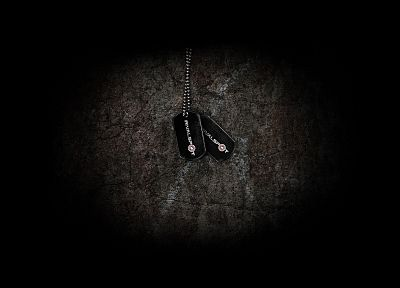 dog tags - random desktop wallpaper