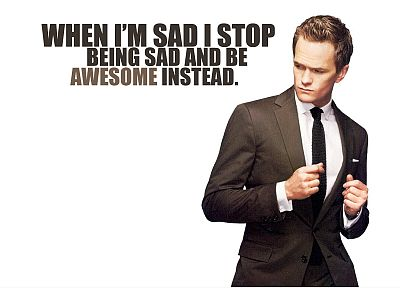 Neil Patrick Harris, Barney Stinson, How I Met Your Mother - random desktop wallpaper
