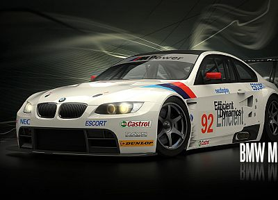 cars, sports, BMW M3, Need For Speed Shift - random desktop wallpaper
