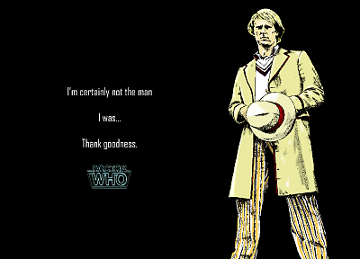 Doctor Who, Peter Davison, Fifth Doctor - random desktop wallpaper