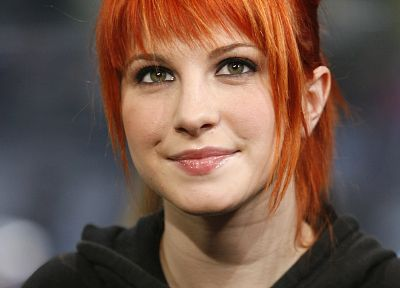 Hayley Williams, Paramore, women, music, redheads, singers, faces - random desktop wallpaper