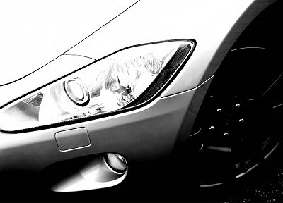 cars, Maserati, vehicles, headlights - related desktop wallpaper