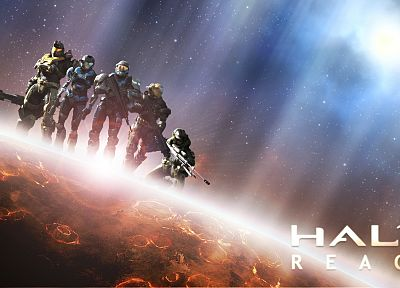 Halo - random desktop wallpaper