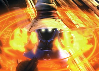 Final Fantasy, mage, video games, black, Vivi (Final Fantasy IX), Final Fantasy IX - random desktop wallpaper