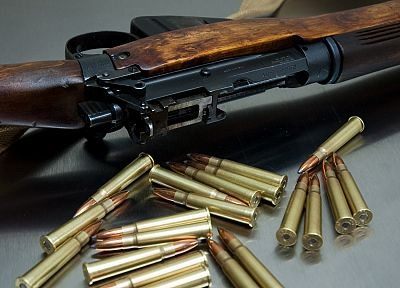 rifles, guns, weapons, ammunition, Enfield - random desktop wallpaper