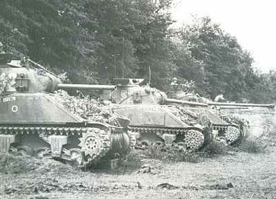 tanks, World War II, historic - desktop wallpaper