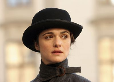 women, movies, Rachel Weisz, hats - desktop wallpaper