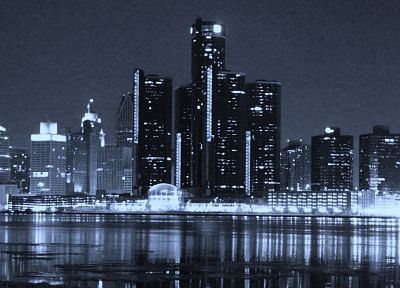 Detroit, city skyline - random desktop wallpaper