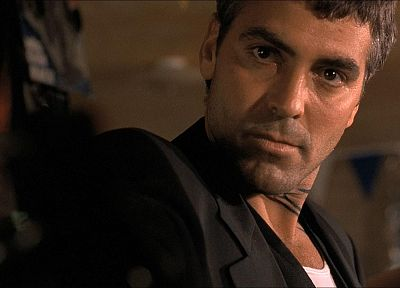 movies, From Dusk till Dawn, George Clooney, movie stills - random desktop wallpaper
