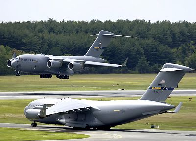 aircraft, military, vehicles, C-17 Globemaster - related desktop wallpaper