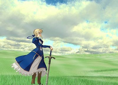 Fate/Stay Night, Saber, anime girls, Fate series - random desktop wallpaper