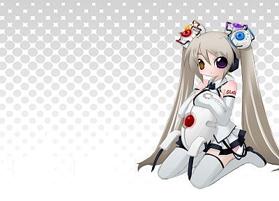 video games, Portal, GLaDOS, anime girls - random desktop wallpaper