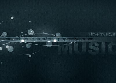 abstract, music, text - random desktop wallpaper
