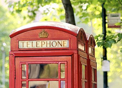 phone booth, English Telephone Booth - random desktop wallpaper