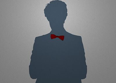 minimalistic, Eleventh Doctor, Doctor Who, bowtie - random desktop wallpaper