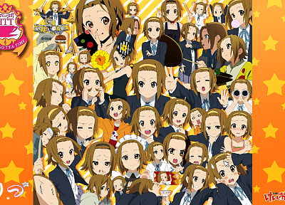 K-ON!, Tainaka Ritsu - desktop wallpaper